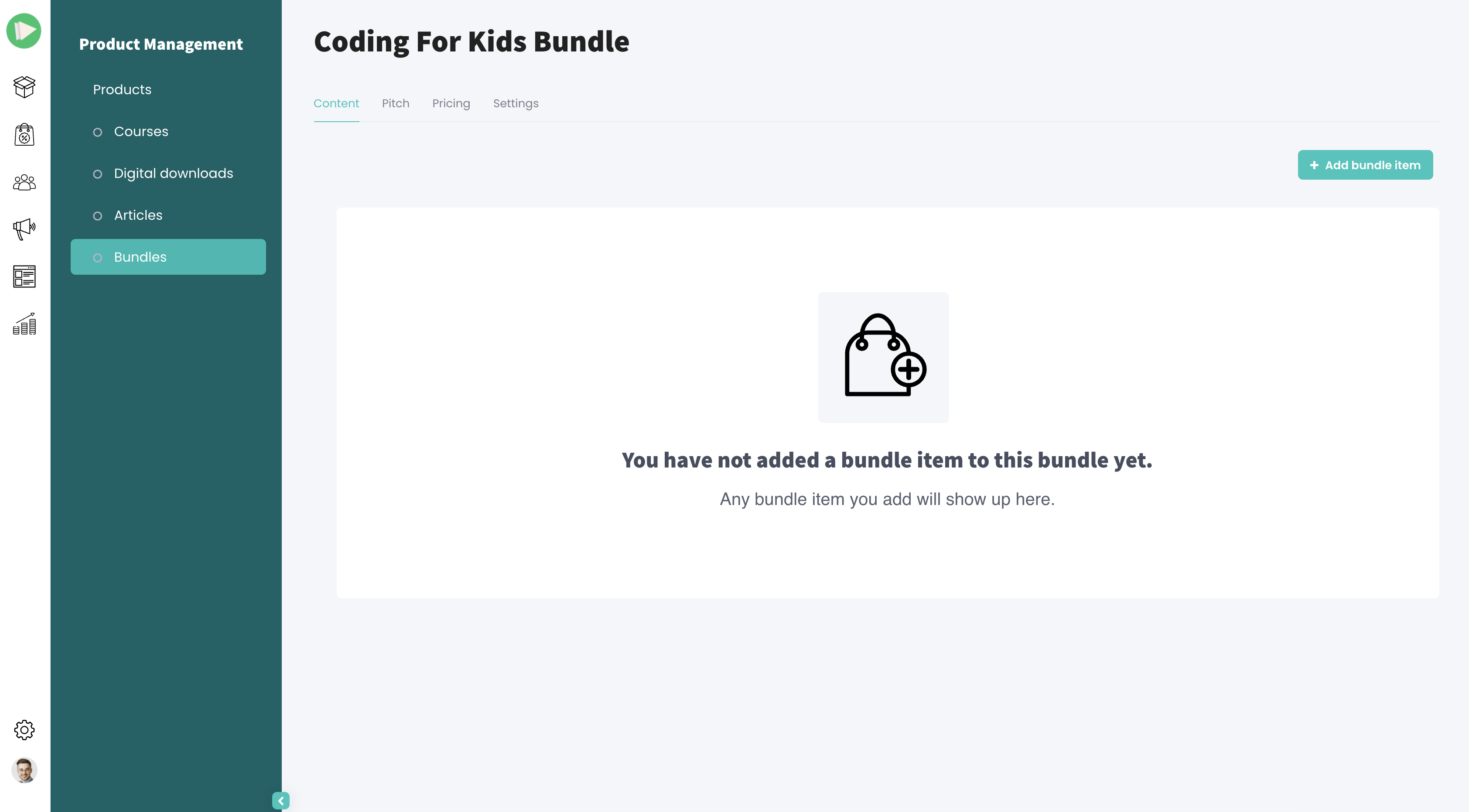 Creating a new bundle
